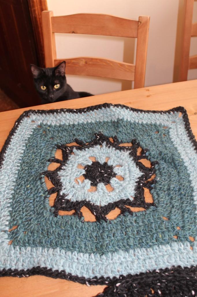 """12"""" Snowfall crochet along"""