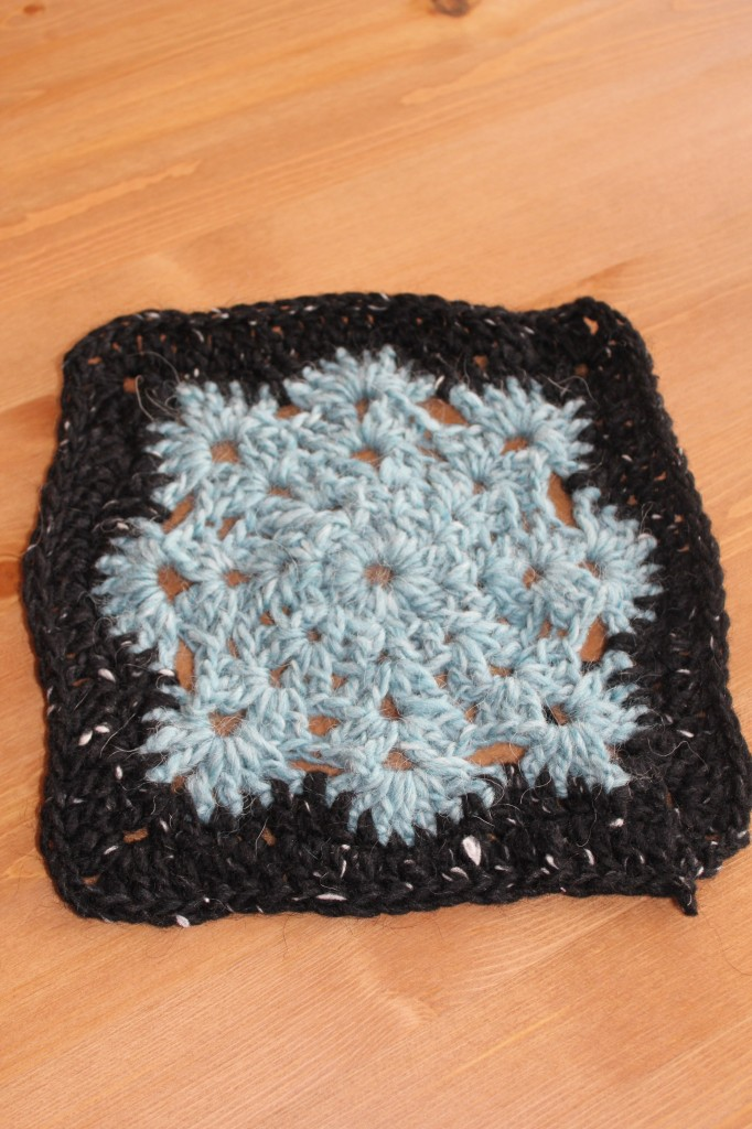 "6"" - Woolly's snowflake square from AuntieElle's blog crochet along"